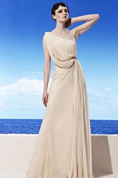 Vestido estilo romano